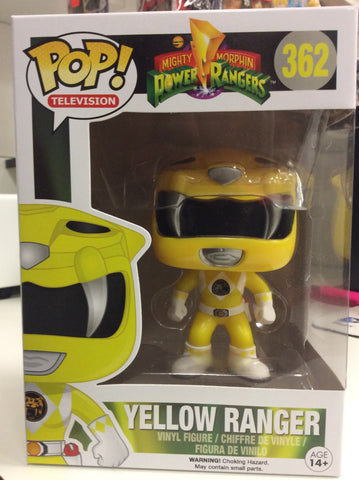 Yellow ranger power rangers pop #362