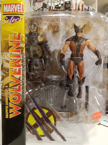 Wolverine brown uniform marvel select figure