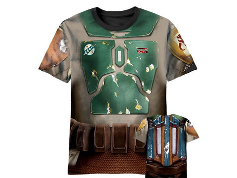 Boba Fett Star Wars sublimated tshirt