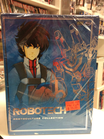 Robotech protoculture collection used dvd