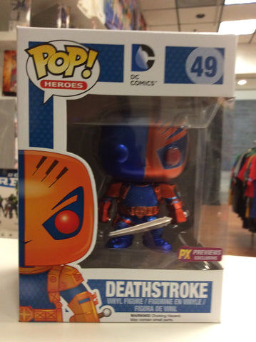 Deathstroke  px exclusive pop DC #49