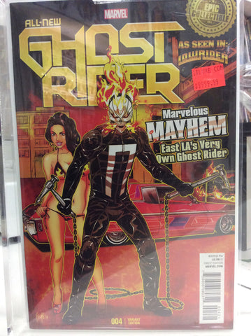 All new Ghost Rider comics # 04 variant epic collectible 2014