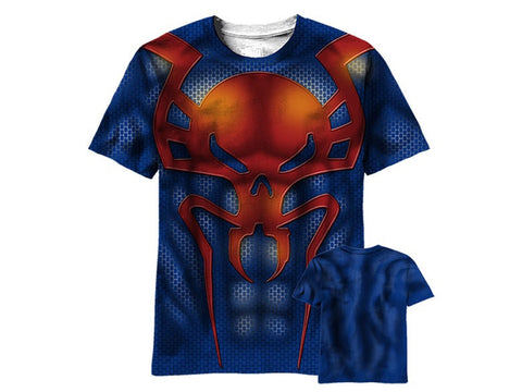 Spiderman 2099 sublimated tshirt