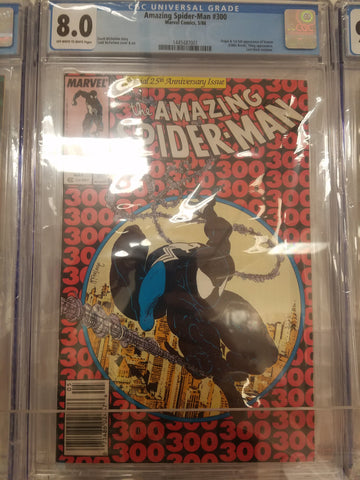 Amazing Spiderman #300 comics CGC 8.0