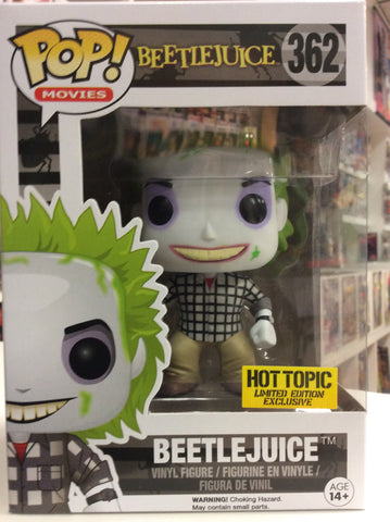 Beetlejuice hot topic exclusive pop # 362