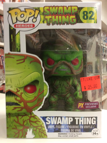 Swamp thing px exclusive pop # 82