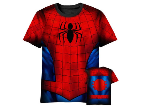 Spider Man sublimated tshirt