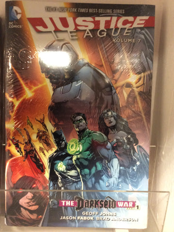 Justice League vol 7 Darkseid war part 1 HC
