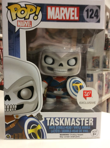 Taskmaster Walgreen exclusive pop marvel # 124