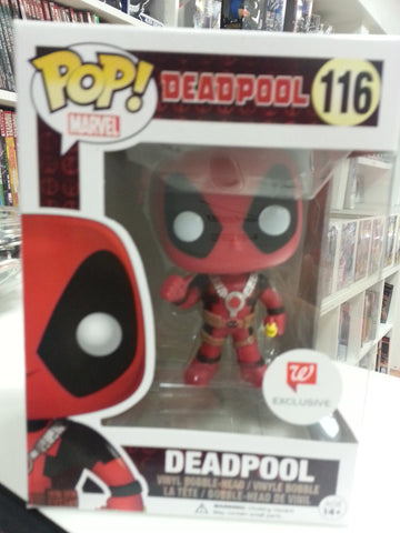 Deadpool pop exclusive walgreen # 116