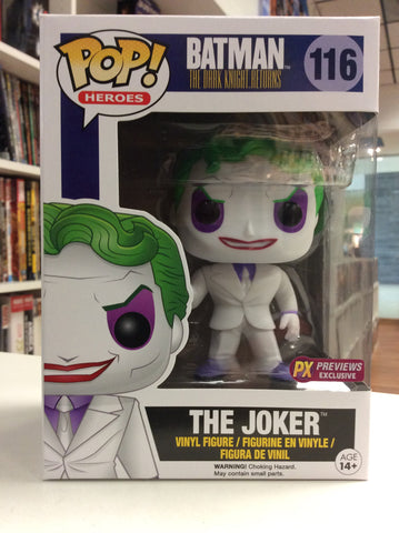 The joker dark knight returns funko pop exclusive px # 116