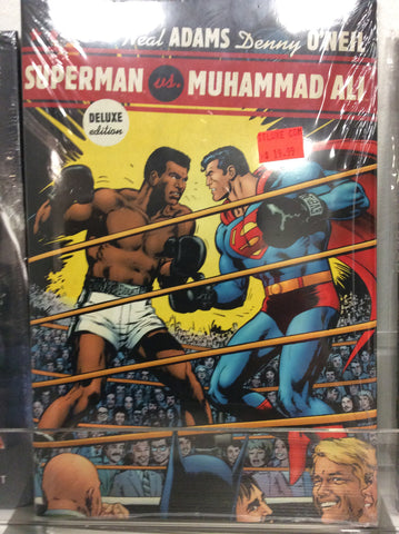 Superman vs Muhammad Ali deluxe edition HC