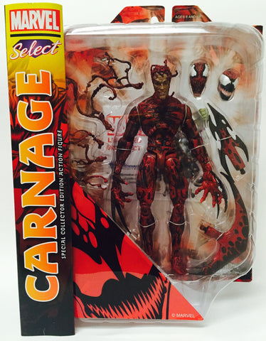 Carnage marvel Select