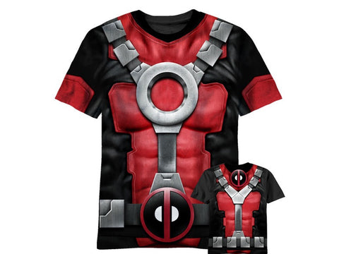 Deadpool sublimated tshirt