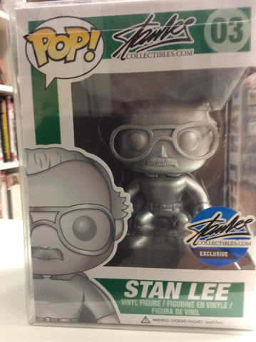 Stan Lee exclusive funko pop # 03 silver