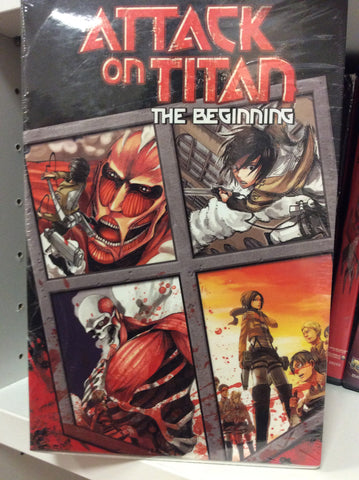 Attack on Titan manga the beginning vol 1-4 set