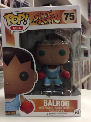 Balrog street fighter Asia exclusive pop #75