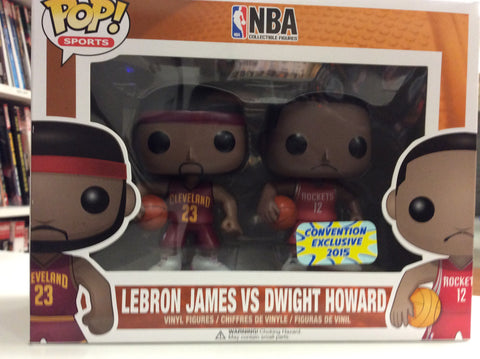 Lebron James vs Dwight Howard NBA  convention exclusive sports