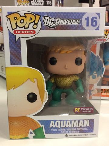 Aquaman px exclusive pop #16
