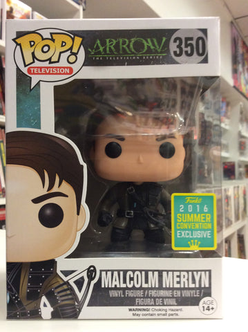 Malcolm Merlyn Arrow summer exclusive pop