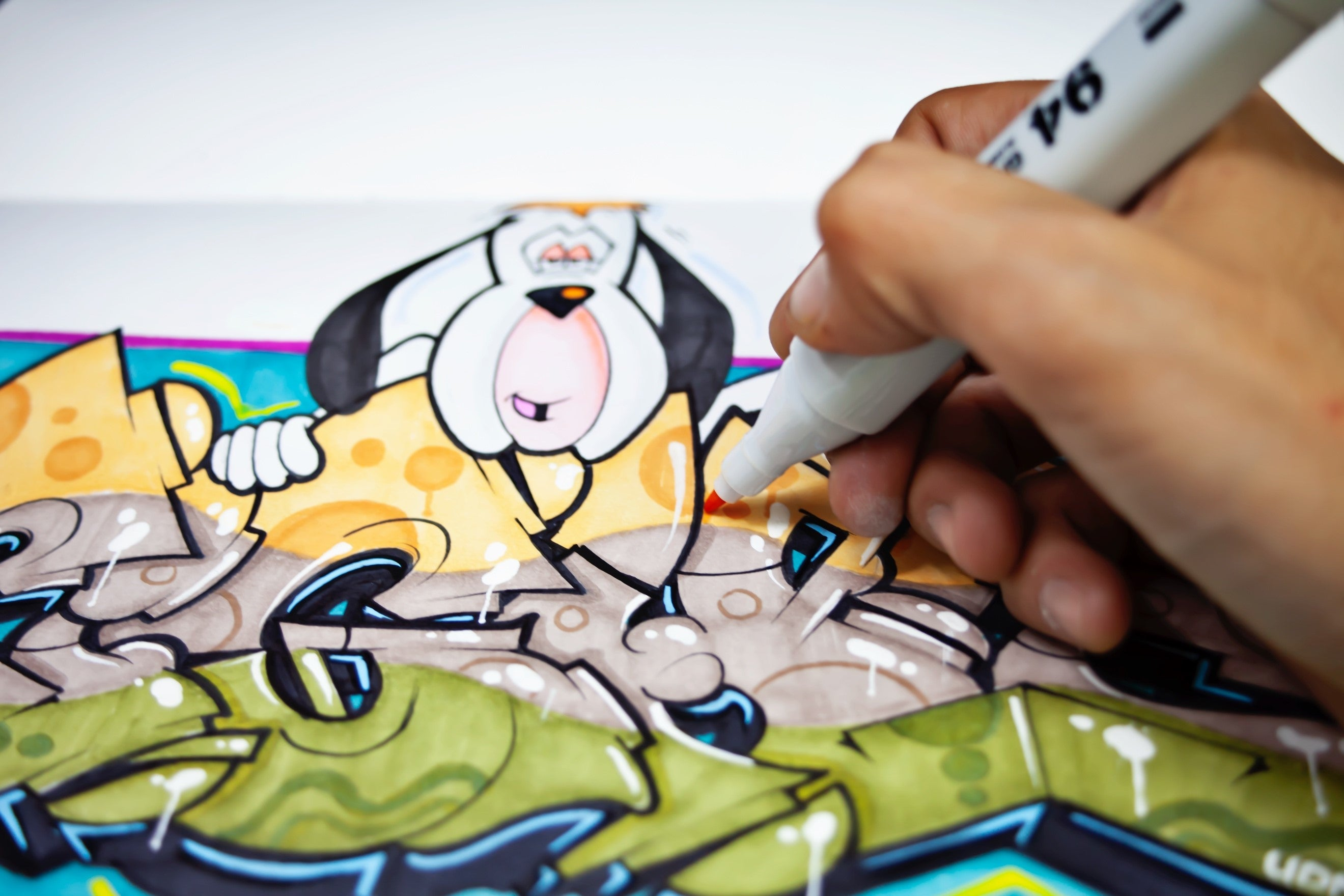 Graffiti Product Review: Montana Colors 94 Markers and Sketchbooks
