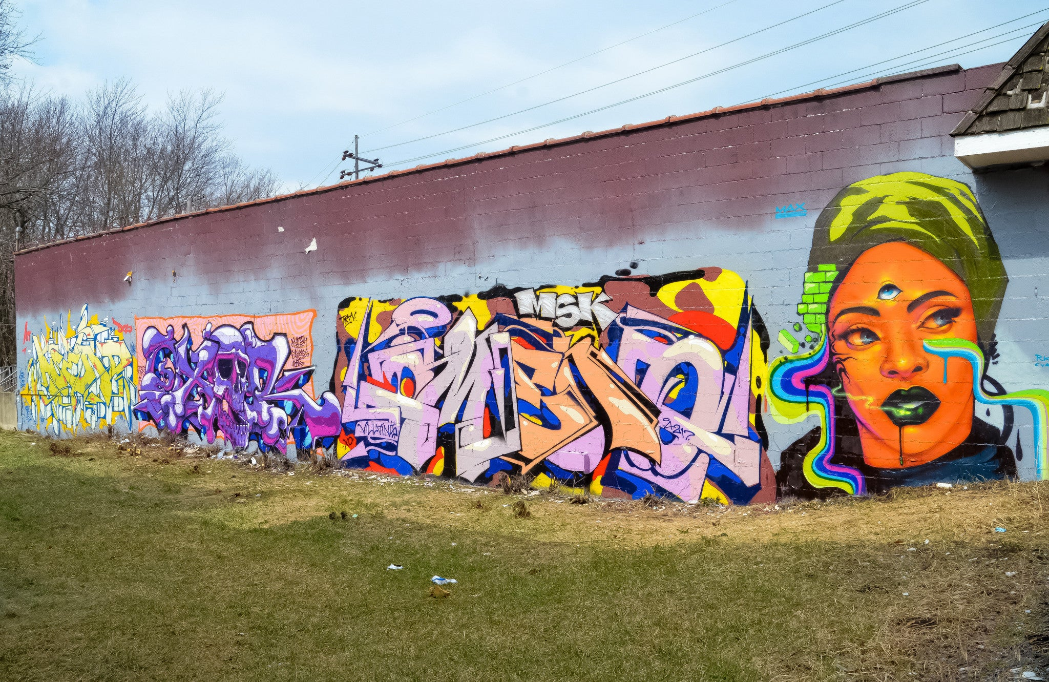 Asend x Oxer x Omens x Max Sansing in Miller Beach, Indiana