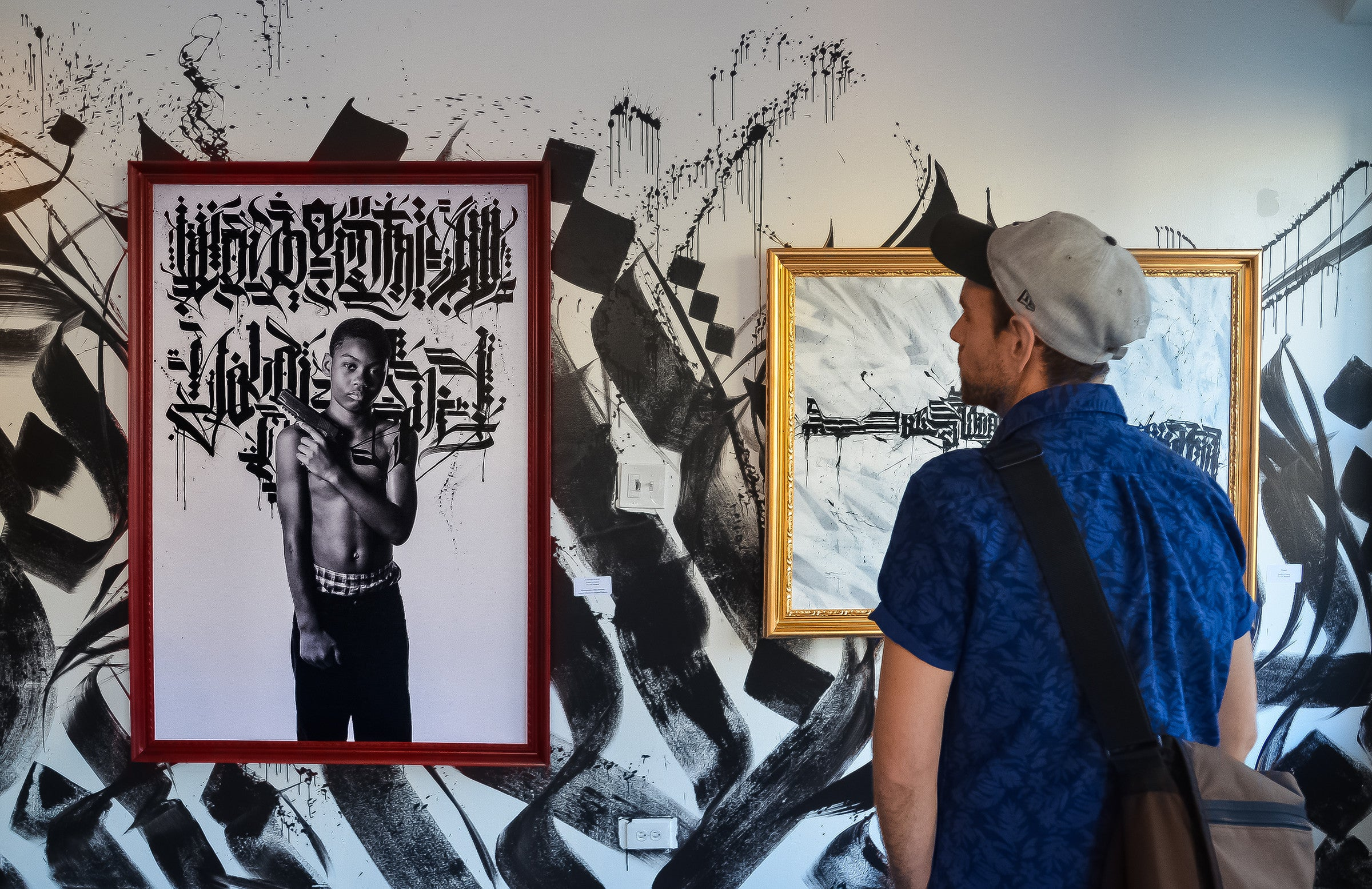 "Tubsz Solo Art Show ""War of Words"""