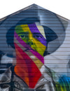 Eduardo Kobra with another heater in Chicago