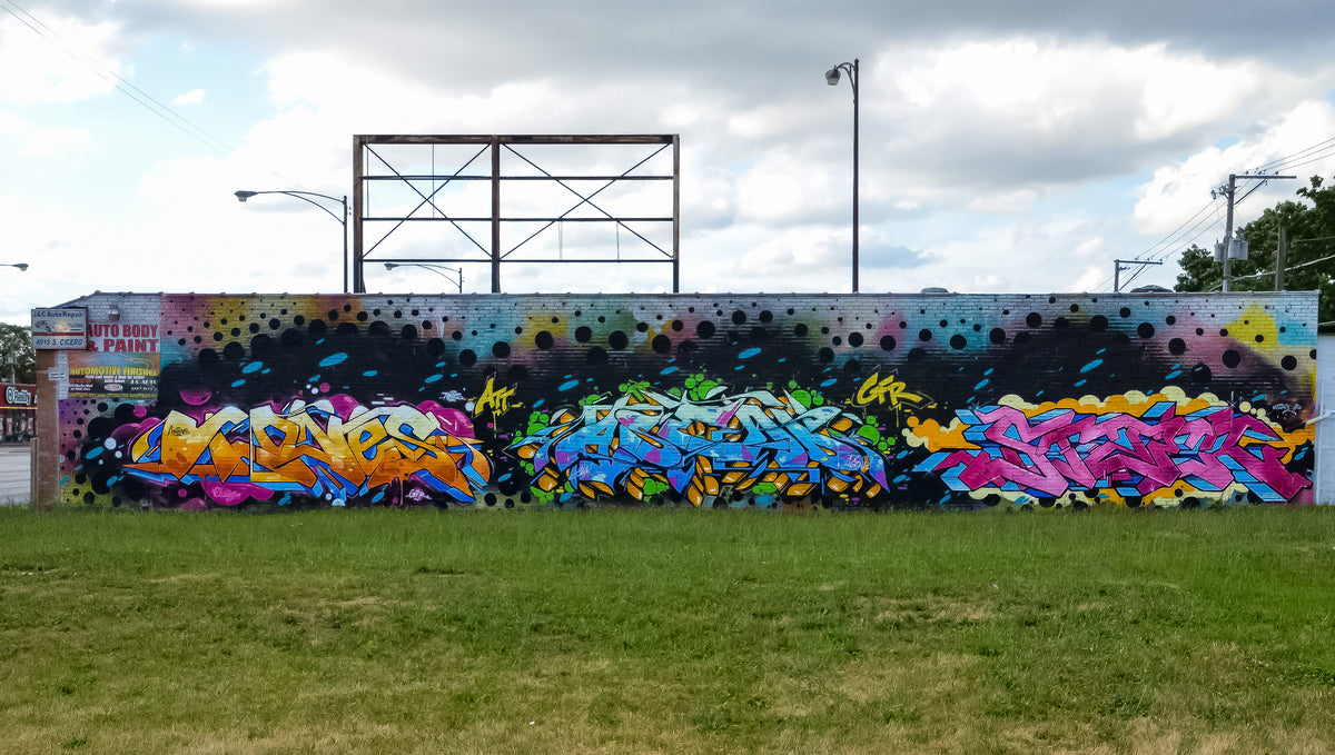 Fresh new work by Tones x Asend x Stae 2