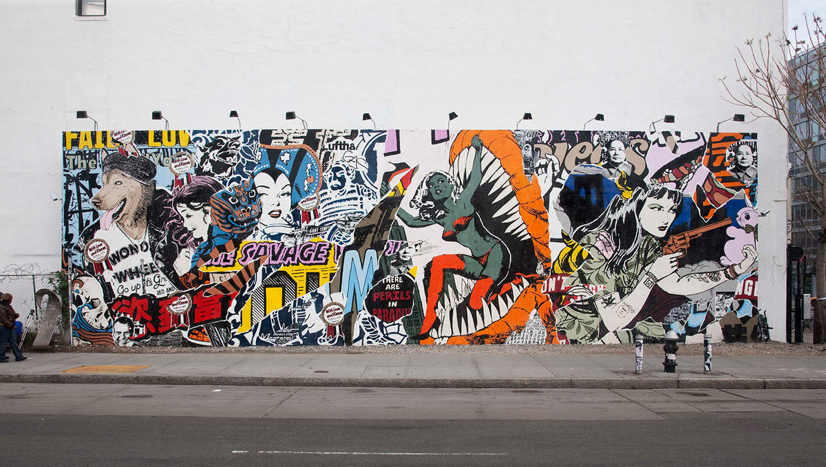 Spray Planet Artist Feature: FAILE