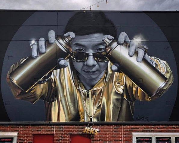 Spray Planet's 11 Questions With Graffiti Artist and Muralist JEKS