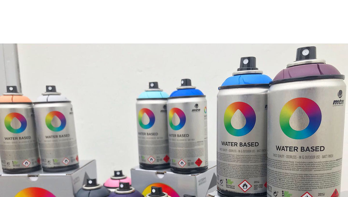 Spray Planet Review: Montana Colors Water Based Spray Paint (Now With 46 NEW Colors!)