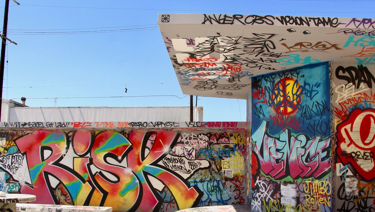 From Buses to River Walls: Graffiti in 1980's to Early-90's Los Angeles