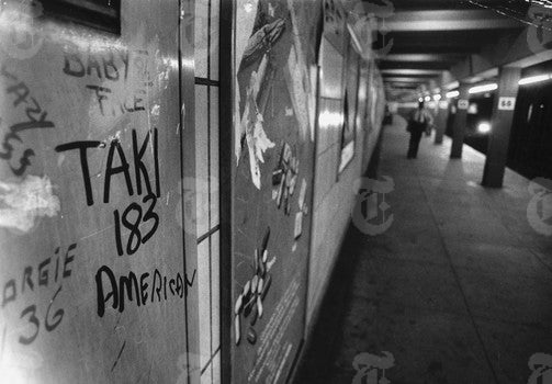 From Brooklyn to the East Village: Havens for Graffiti Art in the Early 80's