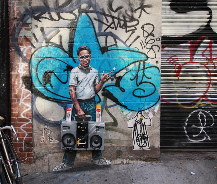 A Brief Guide to Ernest Zacharevic Art and Career