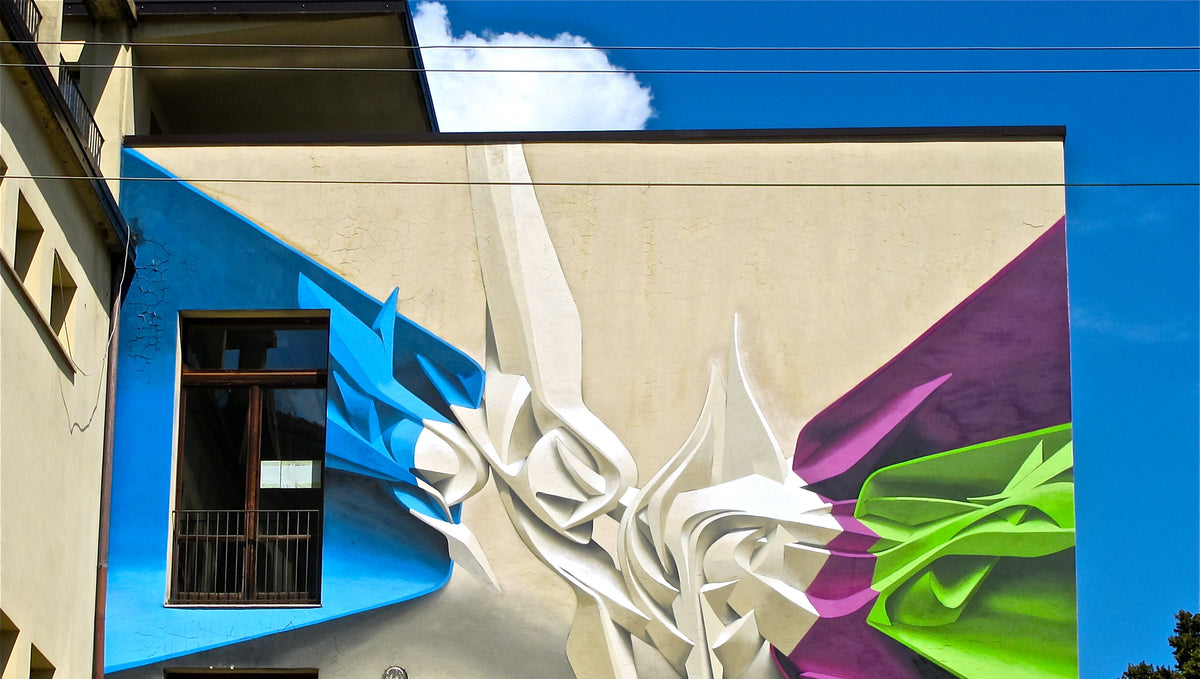 Artist Series: 3D Graffiti Lettering - Mastered by PEETA