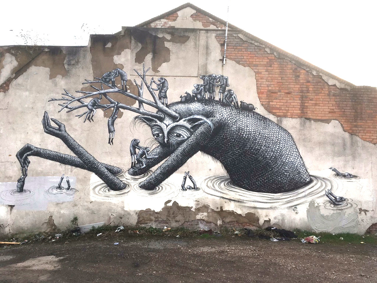 PHLEGM: Abstract Street Art Worldwide