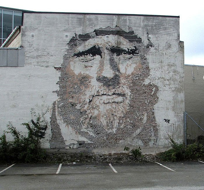 Artist Series: Vhils, Merging Street Art and Relief Sculpture