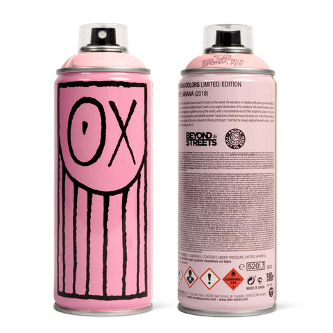 Limited Edition MTN Spray Cans
