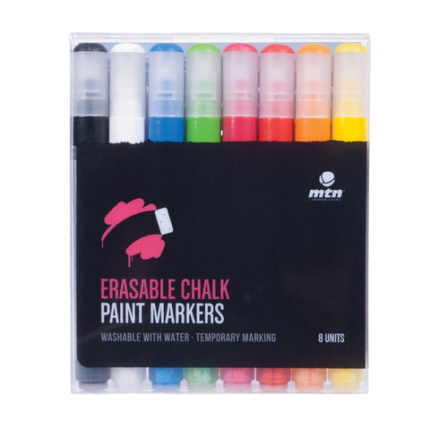 MTN PRO Erasable Chalk Paint Marker Sets