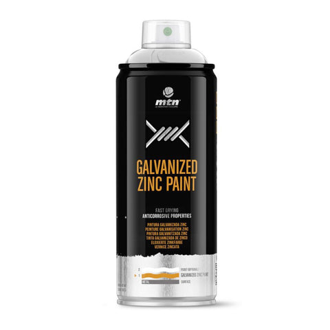 MTN PRO Galvanized Zinc Spray Paint