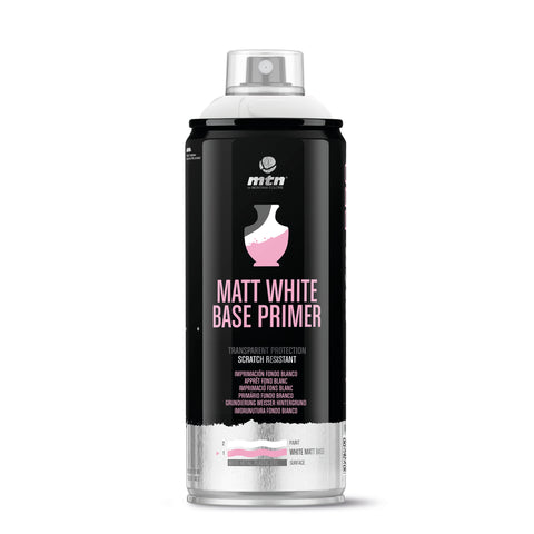 MTN PRO Matt White Base Spray Primer