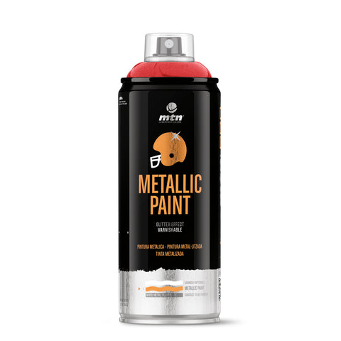 MTN PRO Metallic Spray Paint