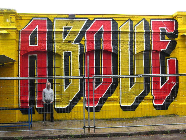 ABOVE Graffiti Lettering styles