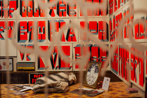 Beyond the Streets: NYC - Graffiti Exhibition Summer 2019 - Barry McGee