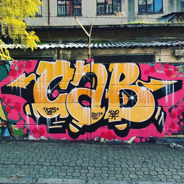 Graffiti Piece by CAB ONE LOD, K2S