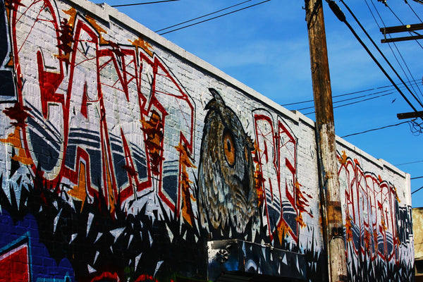 CBS Crew Graffiti Mural Los Angeles