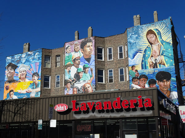 Chicago Mural Districts - Pilsen District