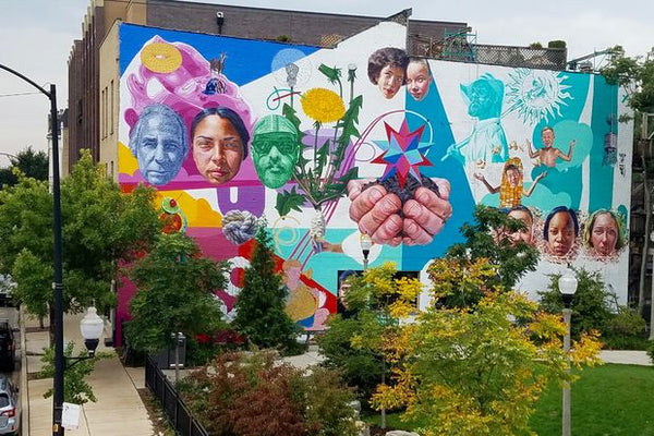 Chicago Mural Districts - Logan Square + Wicker Park - Jeff Zimmerman
