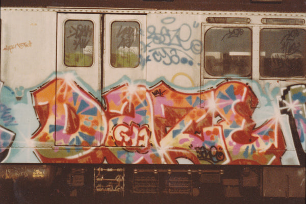 DAZE NYC Graffiti King from early 1980's New York